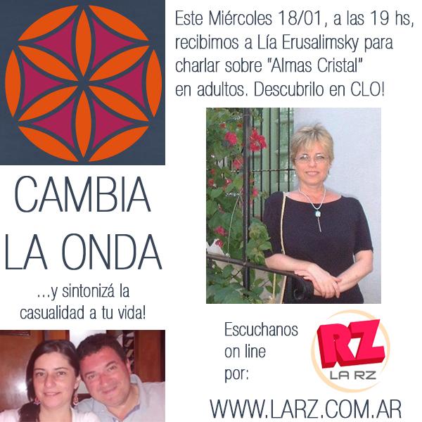 Flyer Miércoles 18.01.17 en Radio La RZ