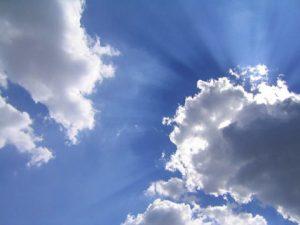 Nubes y Rayos de Sol2