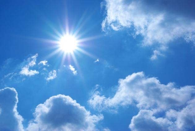 Nubes y Sol